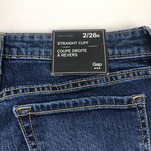 GAP Factory Jeans - NWT GAP Straight Cuff Jeans